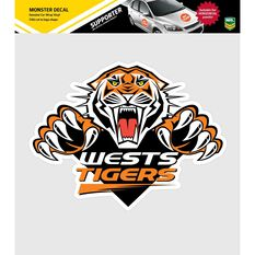 WESTS TIGERS ITAG MONSTER DECAL, , scaau_hi-res