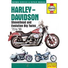 HARLEY-DAVIDSON SHOVELHEAD AND EVOLUTION BIG TWINS 1970 - 1999, , scaau_hi-res