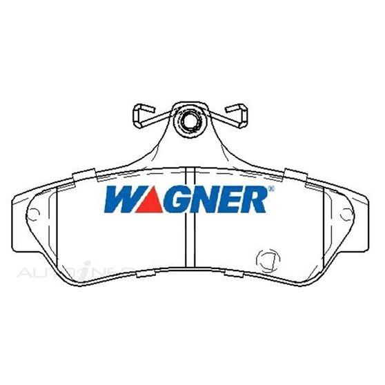 Wagner Brake pad [ Mitsubishi 380 2005-2014 R ], , scaau_hi-res