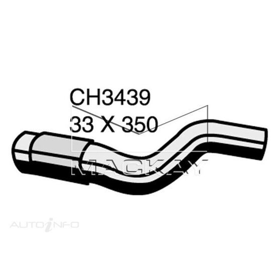 Radiator Upper Hose  - TOYOTA RAV4 ACA21R - 2.0L I4  PETROL - Manual & Auto, , scaau_hi-res