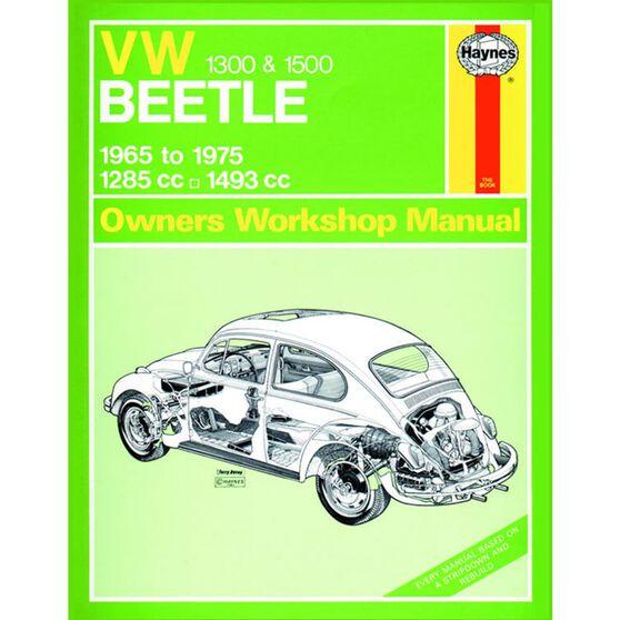 VW BEETLE 1300 & 1500 (1965 - 1975), , scaau_hi-res