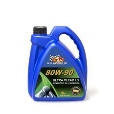 CARTON QTY 4 ULTRA CLEAR GEAR OIL FULL SYN LS 80W-90 4L, , scaau_hi-res