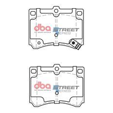 DBA SS STREET SERIES BRAKE PADS [ Eunos/Ford & Mazda 1989-2014 R ], , scaau_hi-res