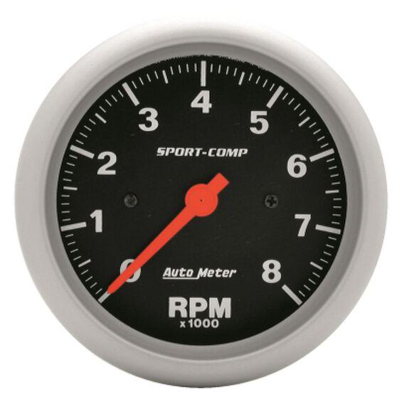 Autometer Sport-comp Tachometer In Dash  8
