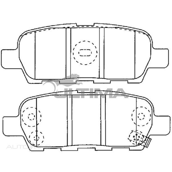 ULTIMA DBP (R) PATHFINDER R50, X-TRAIL ST, TI, T31, , scaau_hi-res
