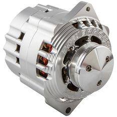 CVR BILLET 200 AMP ALTERNATOR ONE WIRE INCLUDES  V-PULLEY
