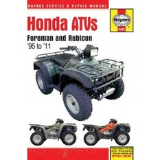 HONDA ATVS FOREMAN AND RUBICON 1995 - 2011, , scaau_hi-res