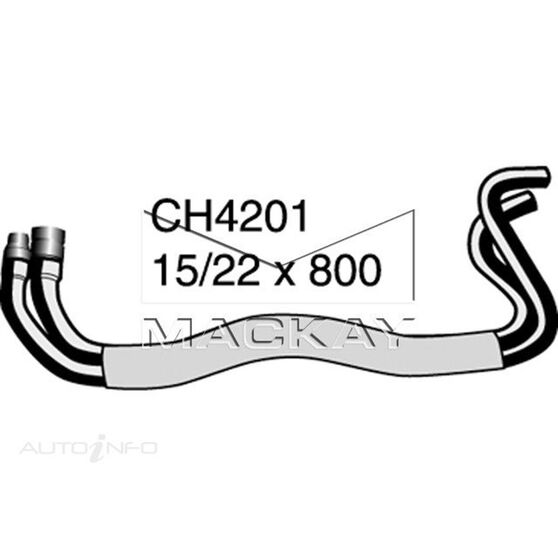 Heater Hose Rear - HOLDEN COMMODORE VE - 6.0L V8  PETROL - Manual & Auto, , scaau_hi-res