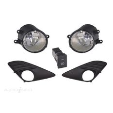 TOYOTA CAMRY  ASV50/AHV50  12/2011 ~ ONWARDS  FOG LIGHT KIT  COMES WITH THEWIRES, , scaau_hi-res