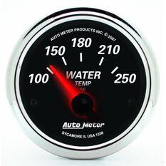 "DESIGNER BLACK II WATER TEMP 2-1/16"", 100-250DEGF, SS ELECT"
