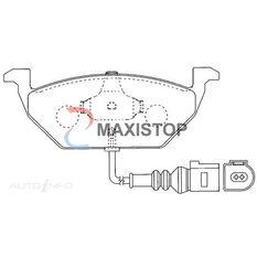 MAXISTOP DBP (F) AUDI A2, A3, VW BORA, GOLF, POLO