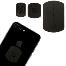 MAGNETIC REPLACE KIT WITH SMALL, MEDIUM AND LARGE METAL PLATES. (BLACK)