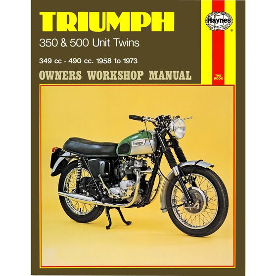 TRIUMPH 350 & 500 UNIT TWINS 1958 - 1973, , scaau_hi-res