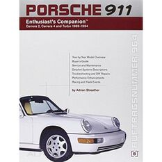 PORSCHE 911 ENTHUSIASTS COMPANION 1989-1994 9780837602936
