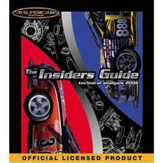 V8 SUPERCARS  THE INSIDERS GUIDE (TECHNICAL ANALYSIS 2006) 9781876720179, , scaau_hi-res