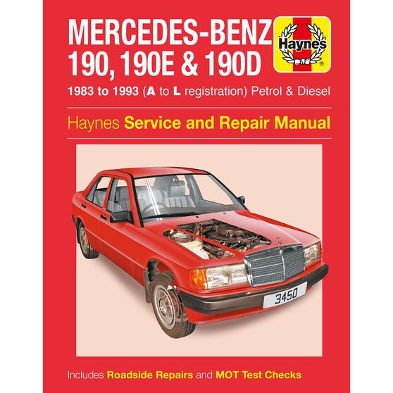 MERCEDES-BENZ 190, 190E & 190D PETROL & DIESEL (1983 - 1993), , scaau_hi-res