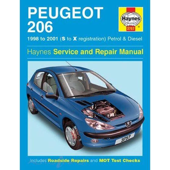 PEUGEOT 206 PETROL & DIESEL (1998 - 2001), , scaau_hi-res