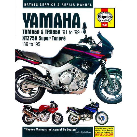 YAMAHA TDM850, TRX850 & XTZ750 1989 - 1999, , scaau_hi-res