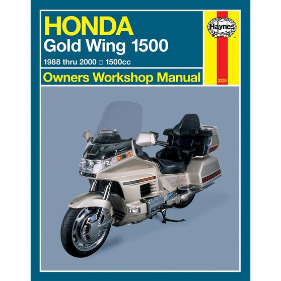 HONDA GOLD WING 1500 (USA) 1988 - 2000, , scaau_hi-res