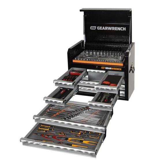 """207 PC COMBINATION TOOL KIT + 26"""" TOOL CHEST, , scaau_hi-res"""