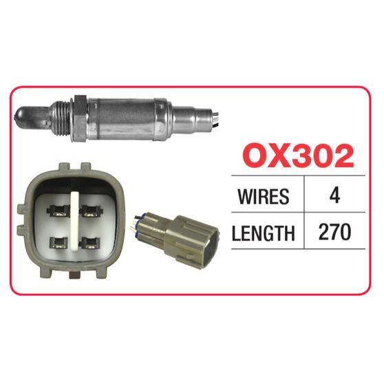 OX SENSOR - TOYOTA 4 WIRE - DIRECT FIT, , scaau_hi-res
