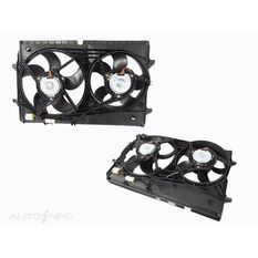 HOLDEN COMMODORE  VZ  08/2004 ~ 07/2006  DUAL RADIATOR FAN  V8MODELS ONLY., , scaau_hi-res