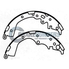 Brake Shoes - Toyota 254mm, , scaau_hi-res