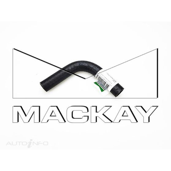 """90° Universal Hose Bend - Water Applications - 16mm (5/8"""") ID - 105mm x 105mm Arm Lengths (EPDM Rubber), , scaau_hi-res"""