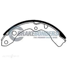 Brake Shoes - Toyota 200mm, , scaau_hi-res