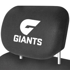 AFL CAR HEAD REST COVER - PAIR GREATER WESTERN SYDNEY, , scaau_hi-res