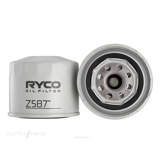 RYCO OIL FILTER - Z587, , scaau_hi-res