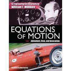 EQUATIONS OF MOTION ADVENTURE  RISK & INNOVATION (HARDCOVER) 9780837613482