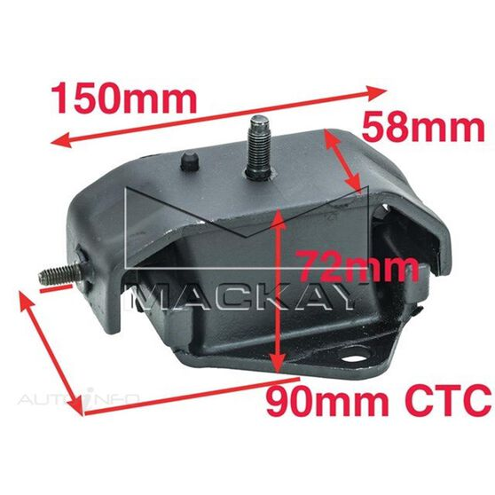 Engine Mount Front - HYUNDAI TERRACAN HP 3.5L - Manual & Auto, , scaau_hi-res