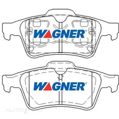 Wagner Brake pad [ Holden/Mazda/Renault/SAAB & Volvo 2001-2014 R ]