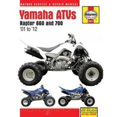 YAMAHA RAPTOR 660 & 700 ATVS 2001 - 2012, , scaau_hi-res