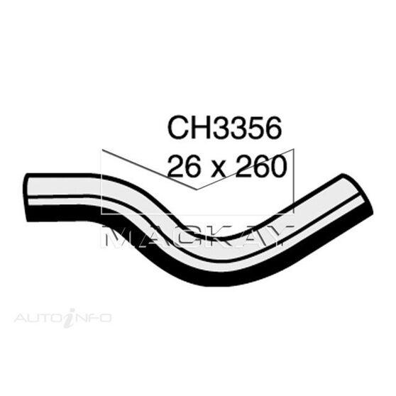 Radiator Upper Hose  - HONDA LOGO GA - 1.3L I4  PETROL - Manual & Auto, , scaau_hi-res
