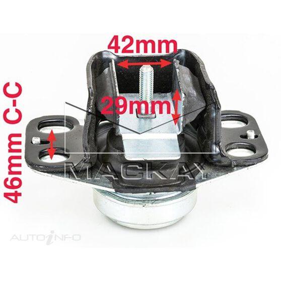 Engine Mount Right - RENAULT CLIO MK II - 1.4L I4  PETROL - Manual & Auto, , scaau_hi-res