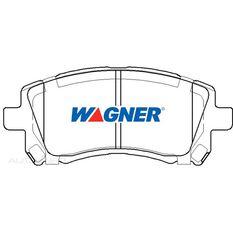 Wagner Brake pad [ Subaru 1996-2003 F ]