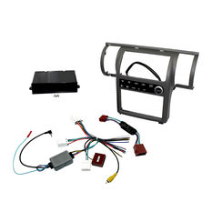 INSTALL KIT TO SUIT NISSAN SKYLINE V35 350GT SINGLE ZONE (PEWTER), , scaau_hi-res