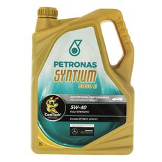 SYNTIUM 5000 E 5W40 5 LITRE ENGINE OIL PLASTIC BOTTLE