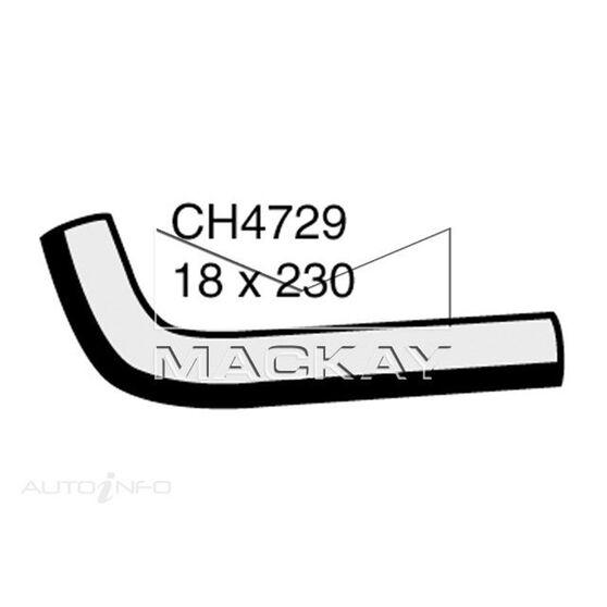 Heater Hose  - TOYOTA HILUX LN167R - 3.0L I4  DIESEL - Manual & Auto, , scaau_hi-res