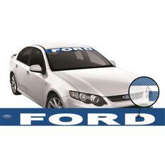 FORD ITAG SEE-THRU SUN VISOR (V8 RACING REPLICA)