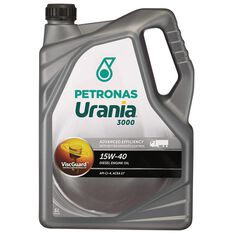 URANIA 3000 15W40 5 LITRE DIESEL ENGINE OIL PLASTIC  BOTTLE, , scaau_hi-res