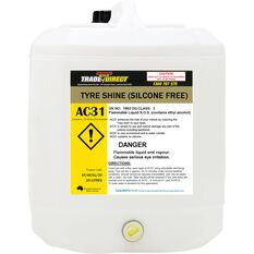 Tyre Shine (Non Silicone Water Based) - 20L Plastic Cube, , scaau_hi-res