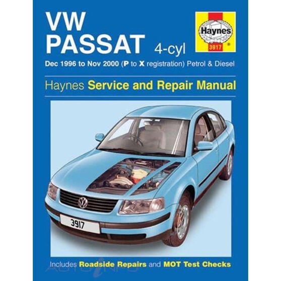 VW PASSAT 4-CYL PETROL & DIESEL (1996 - 2000), , scaau_hi-res