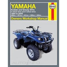 YAMAHA KODIAK AND GRIZZLY ATVS 1993 - 2005, , scaau_hi-res
