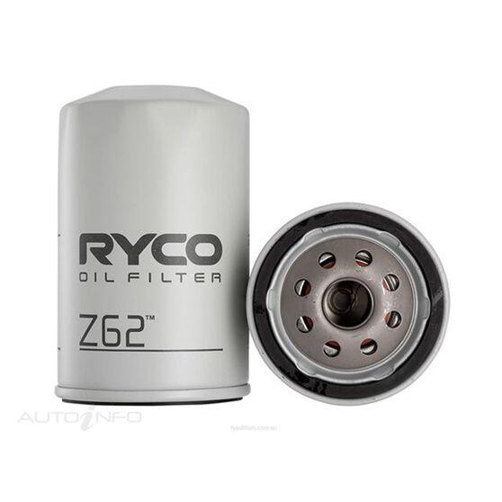 RYCO OIL FILTER - Z62, , scaau_hi-res