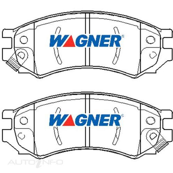 Wagner Brake pad [ Nissan 1985-92 F ], , scaau_hi-res