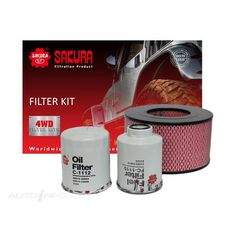 FILTER KIT OIL AIR FUEL TOYOTA, , scaau_hi-res