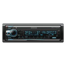 KENWOOD SINGLE DIN CD BLUETOOTH USB RECEIVER WITH DAB+